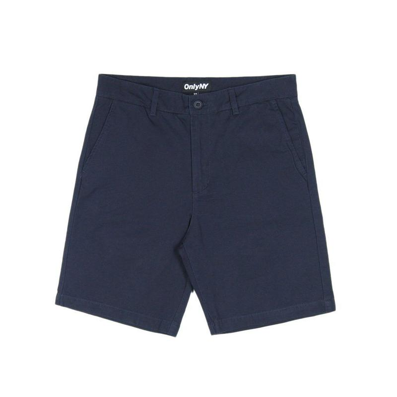 Only NY Washed Chino Shorts (Navy)