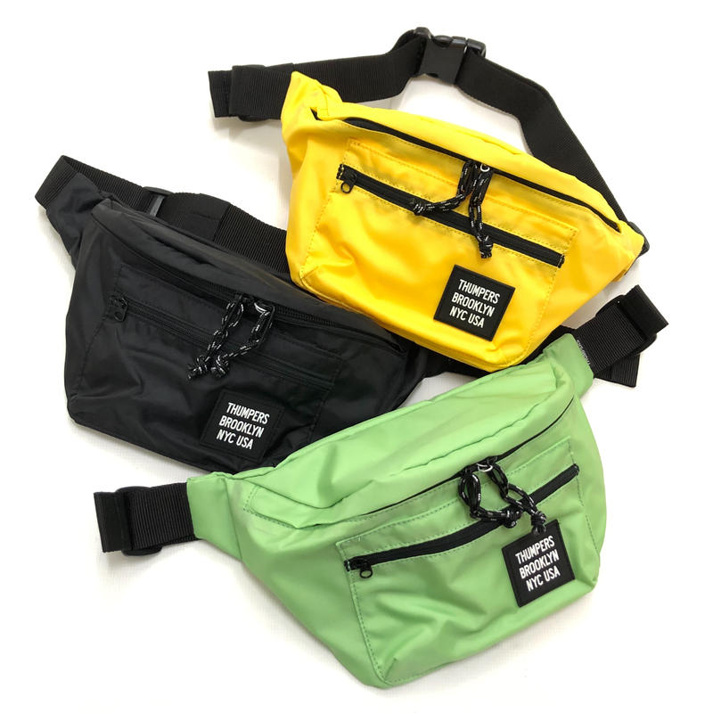 THUMPERS WAIST BAG (GREEN, BLACK, YELLOW)