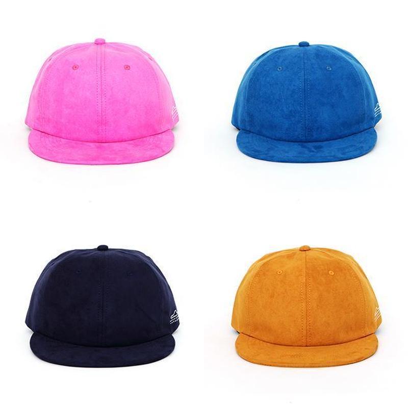 NEMES U/F/O SUEDE CAP (PINK, BLUE, NAVY, BEIGE)