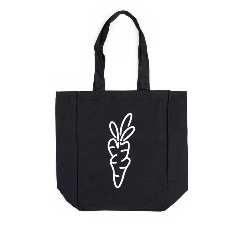 Carrots By Anwar Carrots CARROT LOGO TOTE BAG (BLACK, NAVY, NATURAL)