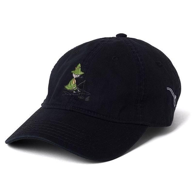 SNUFKIN x DL Headwear FISHING LOW-PROFILE CAP (white, black)