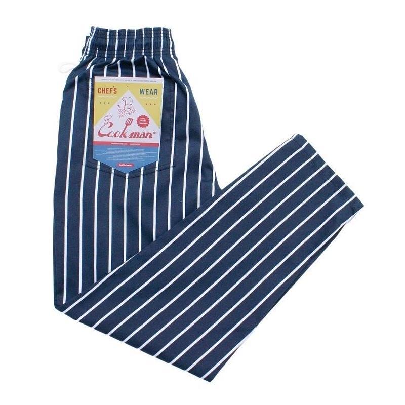 Cookman Chef Pants PINSTRIPE (NAVY)
