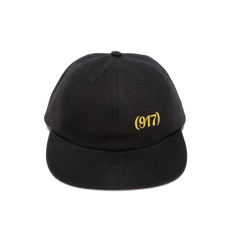 CALL ME 917  AREA CODE HAT(BLACK)