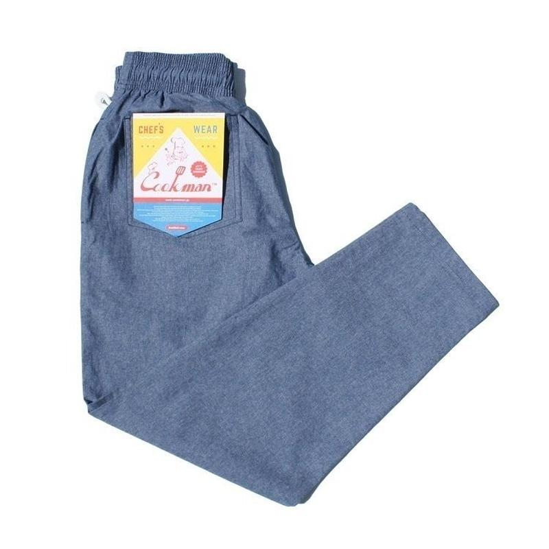Cookman Chef Pants CHAMBRAY (BLUE)