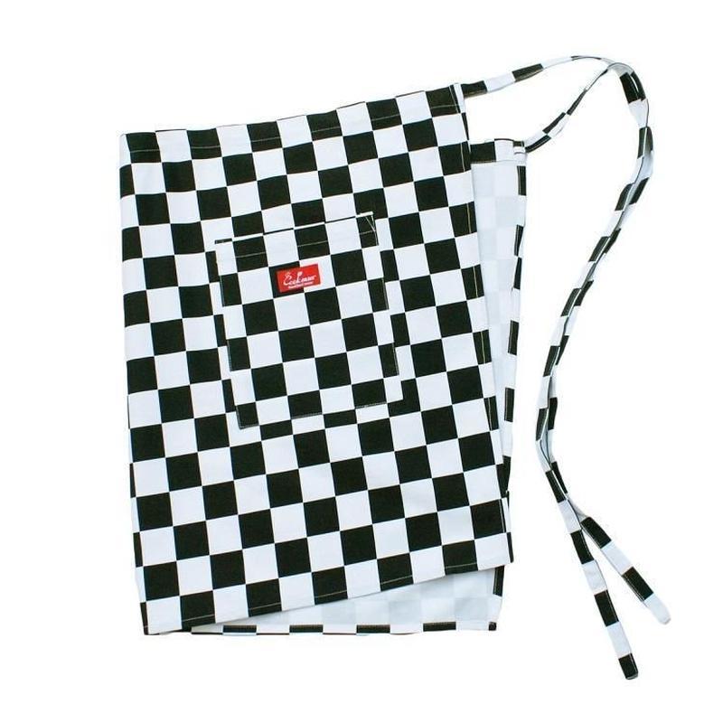 Cookman Waist Apron (Checker)