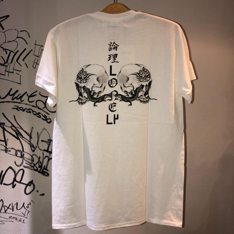 LONELY論理  KAW A NABE 3 TEE (WHITE , BLACK , WINE)