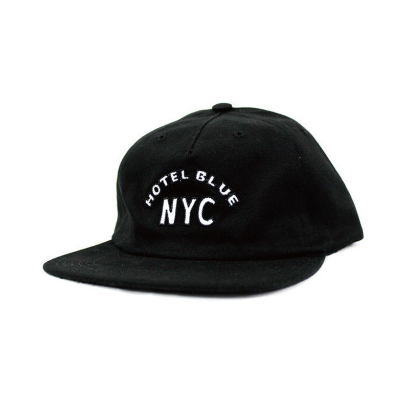 HOTEL BLUE ARCH CAP (BLACK, NAVY)