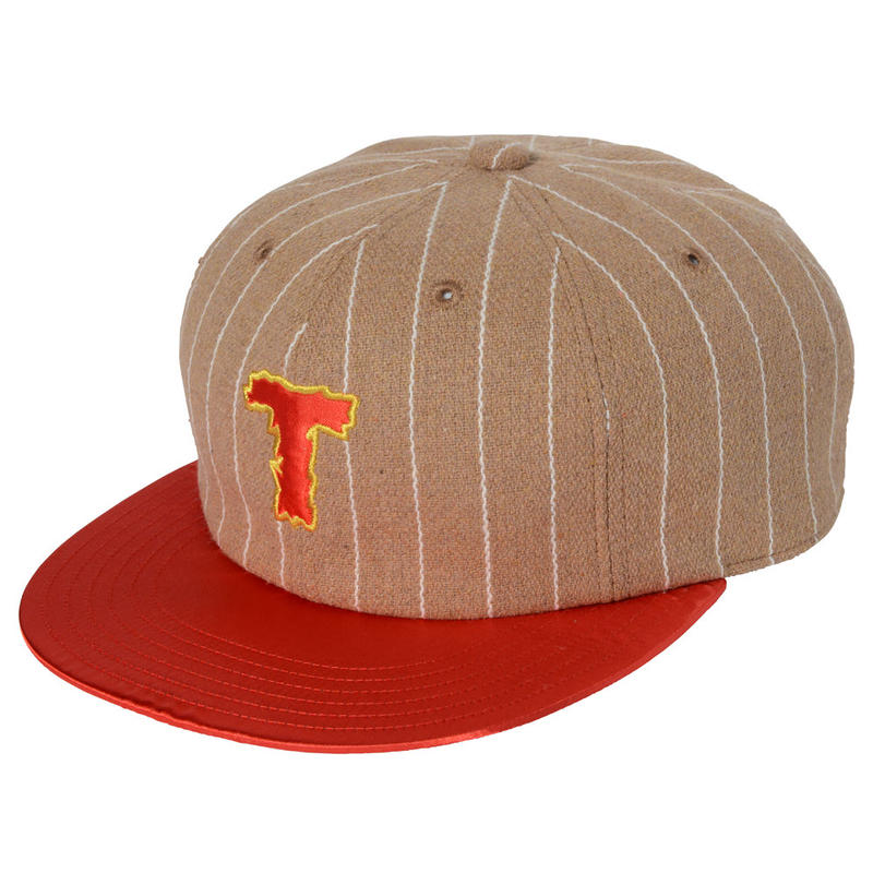 THUMPERS T LOGO CAP (YELLOW, GREY)