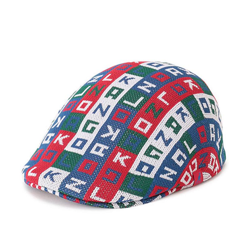 KANGOL®︎ Color Cube 507 (SCARLET, BLACK)