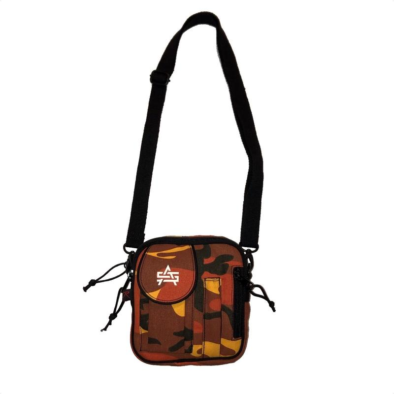 ATTACK ORIGINAL JUNGLE POUCH (ORANGE CAMO)