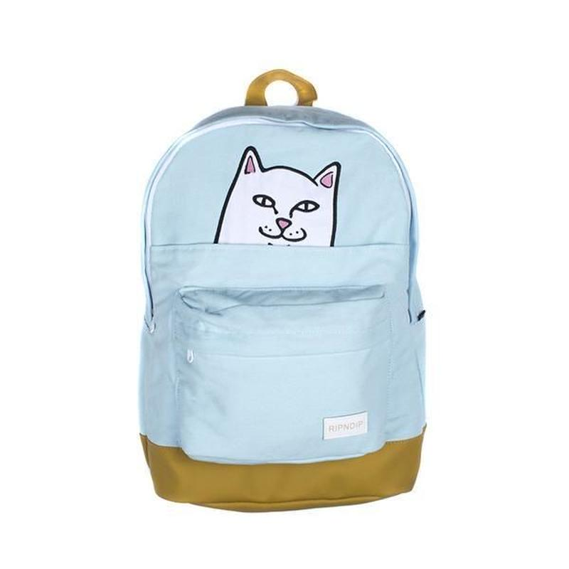 RIPNDIP LORD NERMAL BACKPACK (BLUE, PINK)