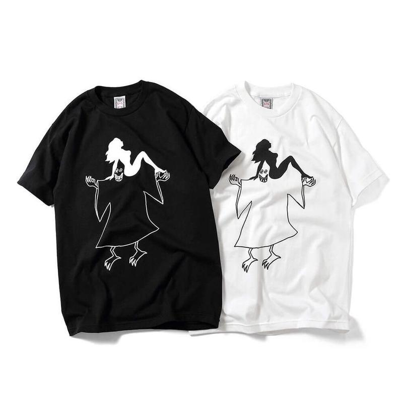Saints & Sinners GHOST&GIRLS TEE (WHITE,  BLACK)