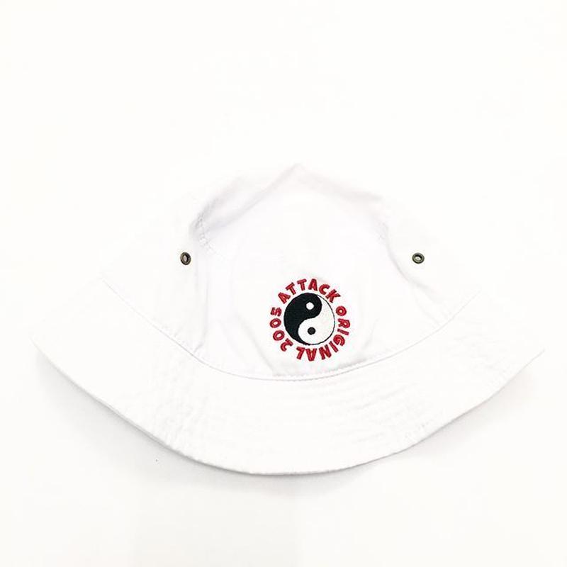 ATTACK ORIGINAL 陰陽2005 HAT (WHITE)