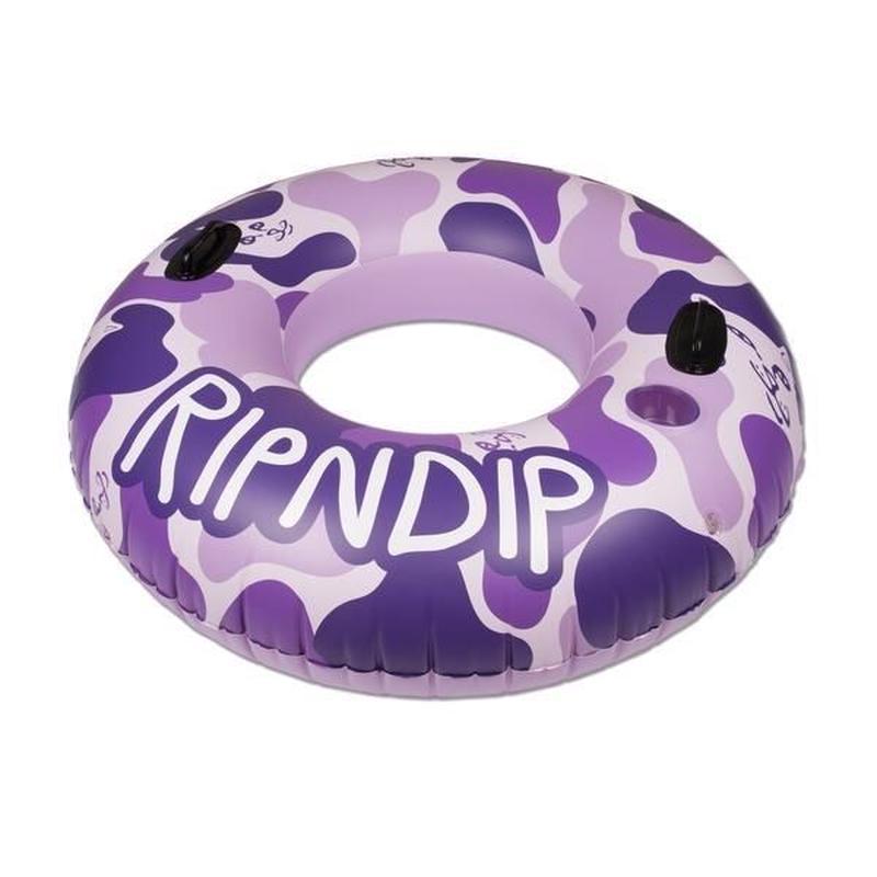 RIPNDIP CAMO TUBE FLOAT (PURPLE, PINK)