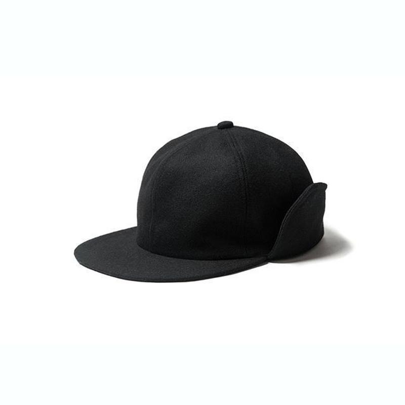 EVISEN CAPTAIN WOOL CAP (BLACK)