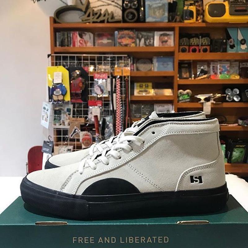 STATE FOOTWEAR SALEM TKF SALEM (WHITE / BLACK)