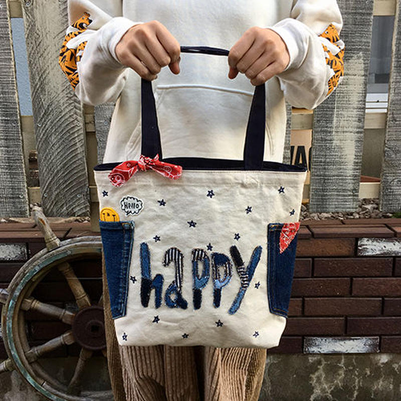 happyMサイズトート(生成)