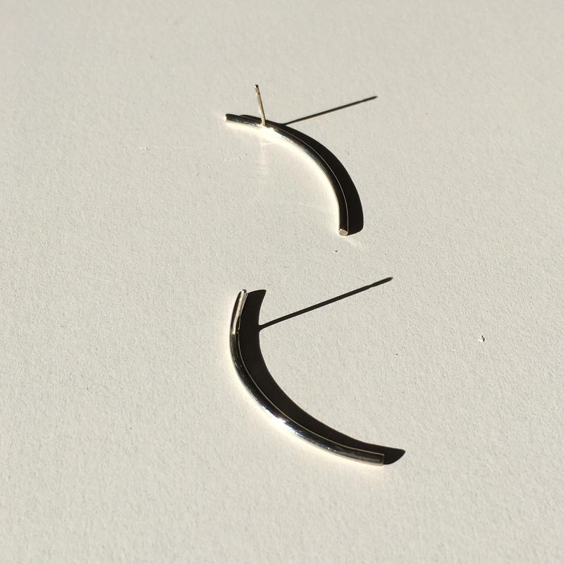 Rae pierce short in silver