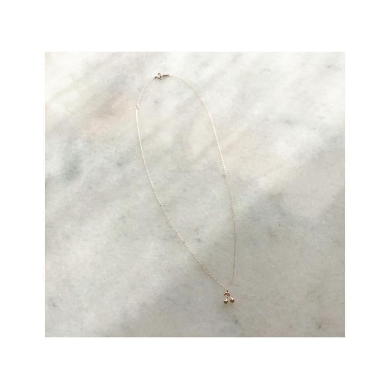 Mon petie cherry necklace