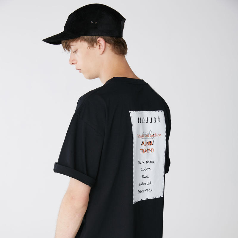 Tribute Logo(H) S/S Tee(BLK)