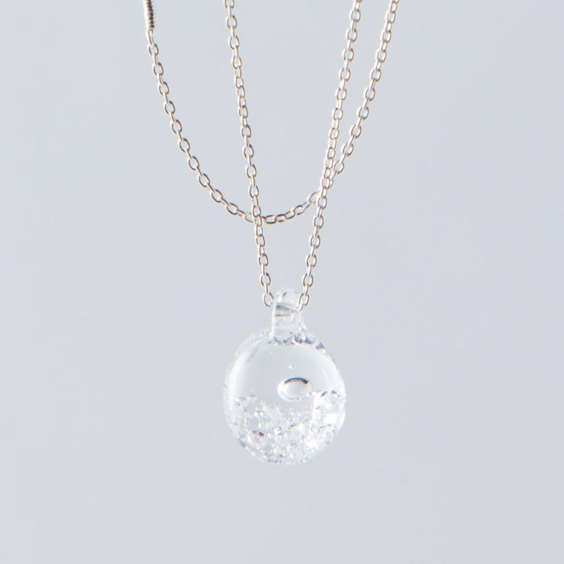 aqua necklace / 15-n1