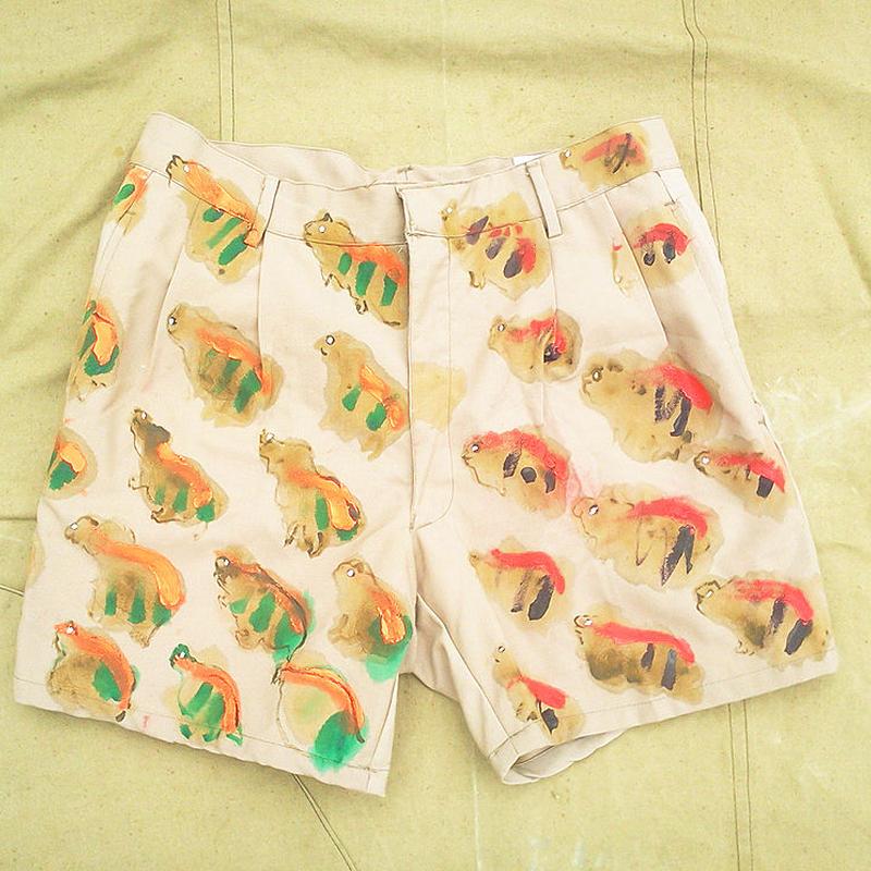 【on military】OMA 動物迷彩|animal camoショートパンツ|shorts 01