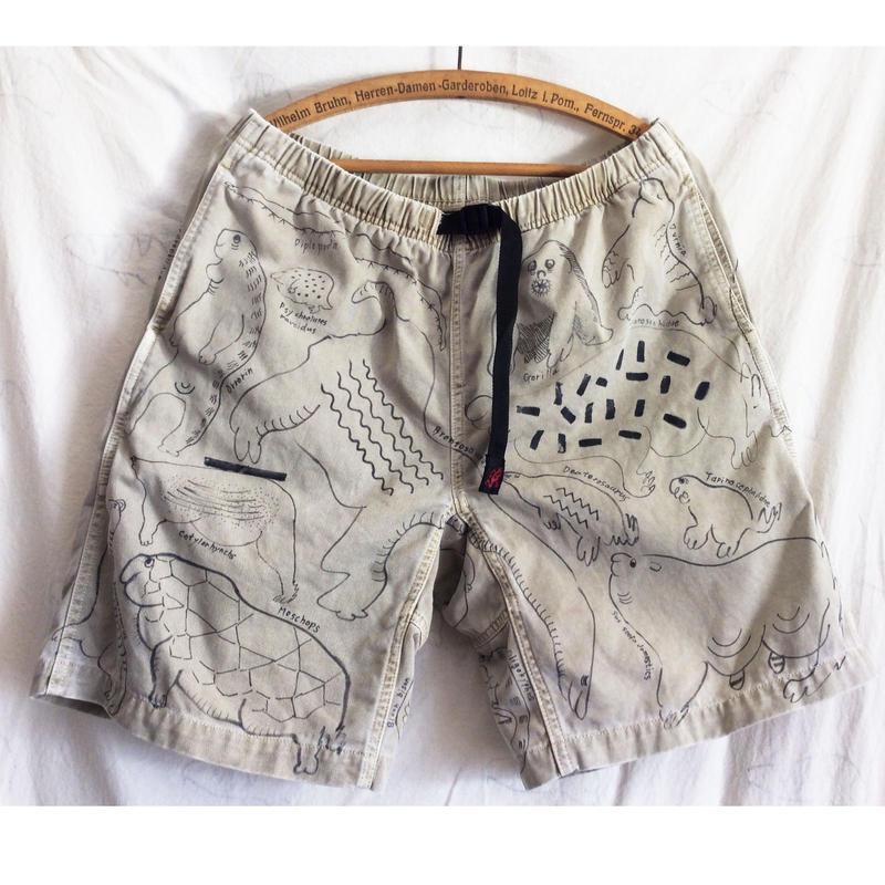 【on GRAMICCI】 OMA overdrawing shorts 12   Ouija|筋肉のとらえた夢