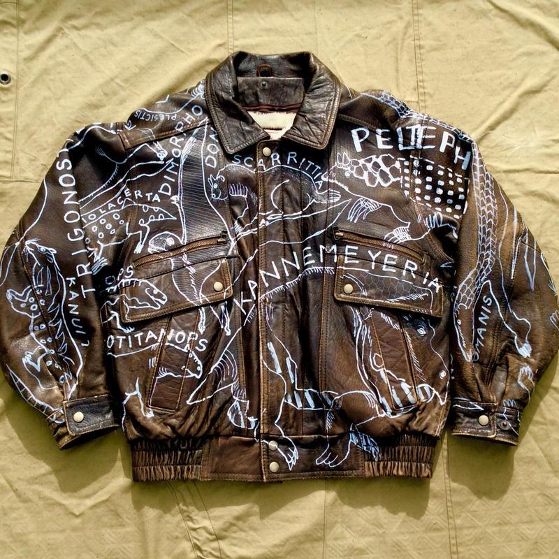 OMA overdrawing 革  leather 01「絶滅動物 Extinct animals」