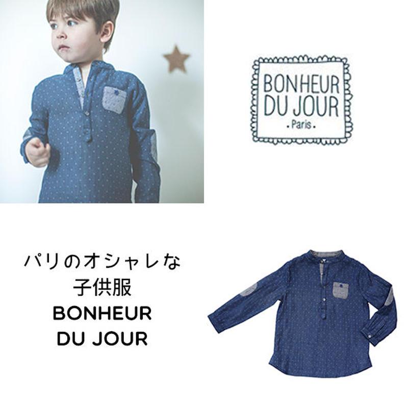 BONHEUR DU JOUR ダブルガーゼボーイズシャツ(16039)