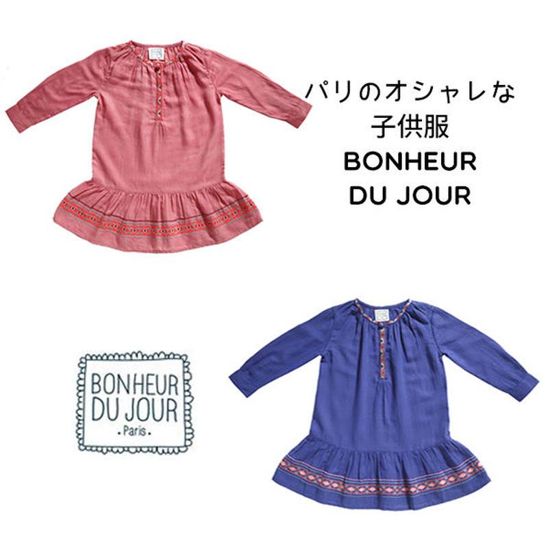 BONHEUR DU JOUR フォークロアワンピース(16041)