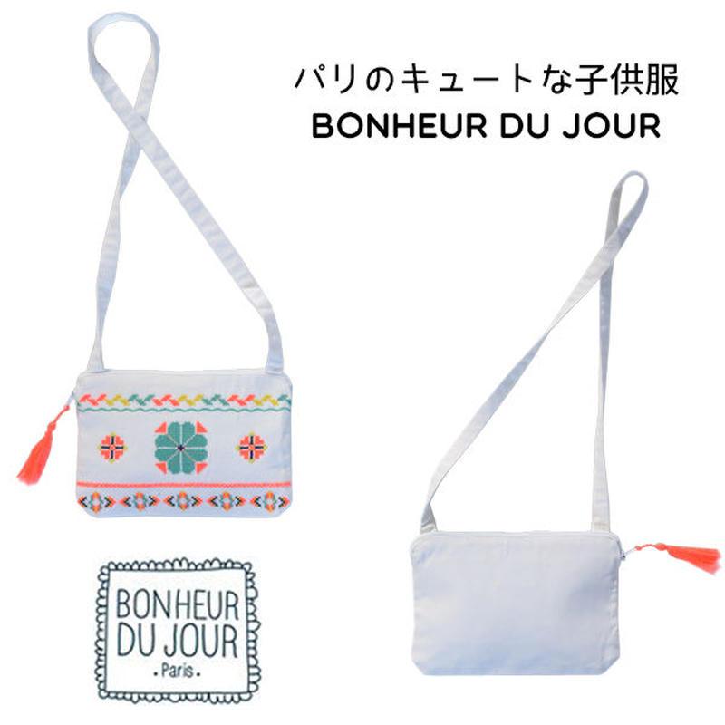 BONHEUR DU JOUR エスニック柄ポシェット(16094)