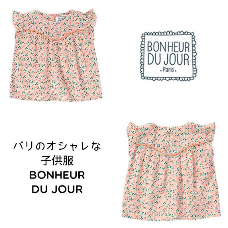 BONHEUR DU JOUR 小花柄チュニックブラウス (16072)