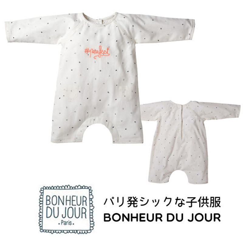 BONHEUR DU JOUR ベビーロンパース(18004)