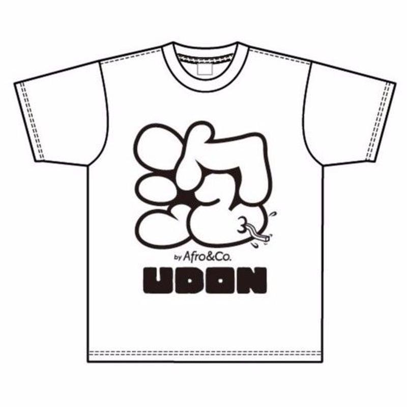Tシャツ(泡×UDON)WHITE ※男女兼用
