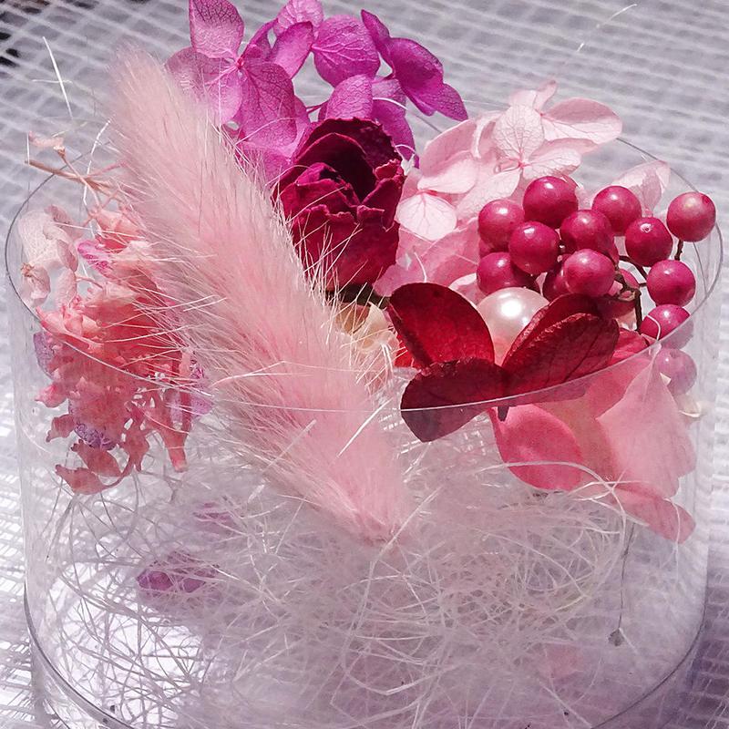 【おまかせピンク系】ハーバリウム花材セット