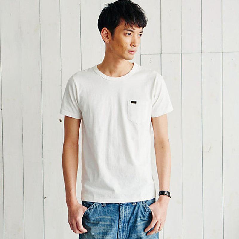 【Lee】PACK POCKET T(White)/パックポケットティーシャツ(ホワイト)