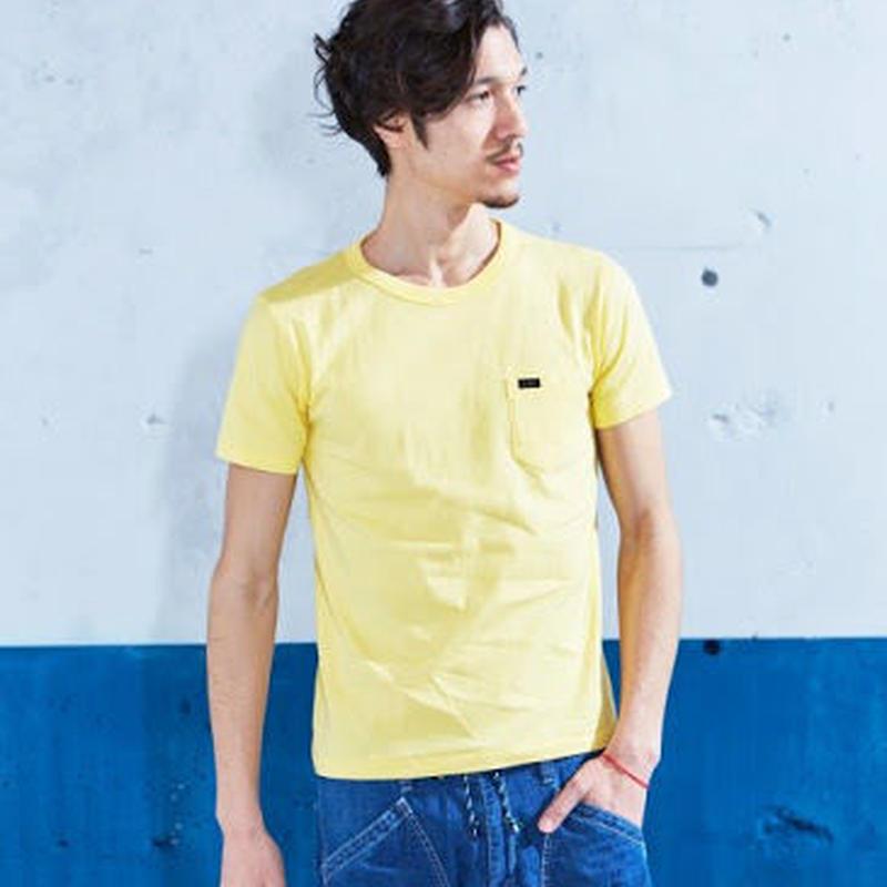 【Lee】PACK POCKET T(Yellow)/パックポケットティーシャツ(イエロー)