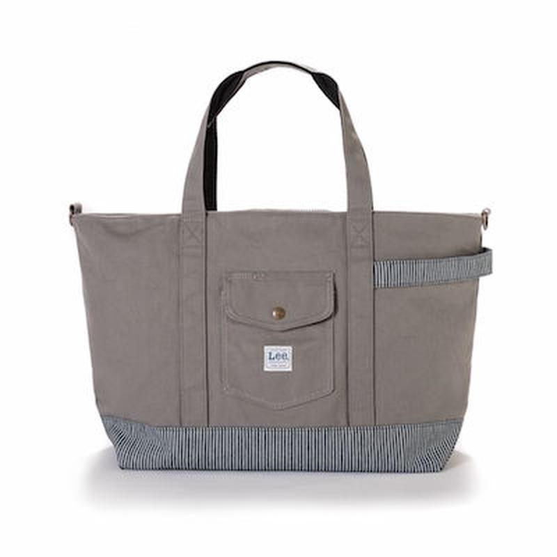 【Lee】TOTE BAG(Grey)/トートバッグ(グレー)