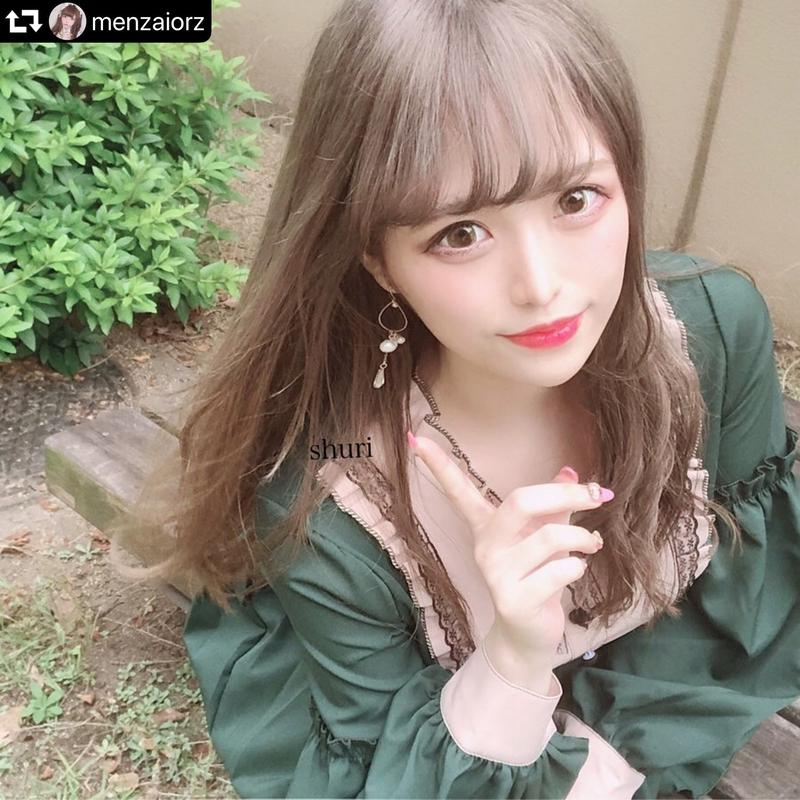【shuri様着用】アリス風❤︎ ビッグフレアワンピース