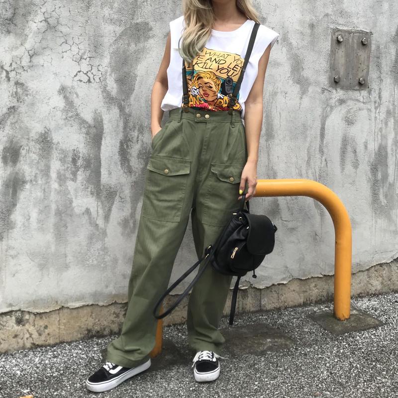 カーゴパンツ(サス付き♡)