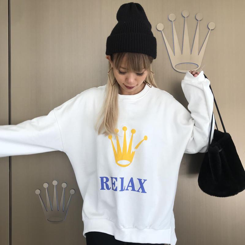 だんだんスウェット「RELAX」