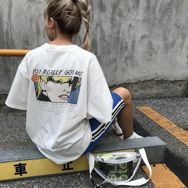 アメコミBIGTシャツ「GOT ME」