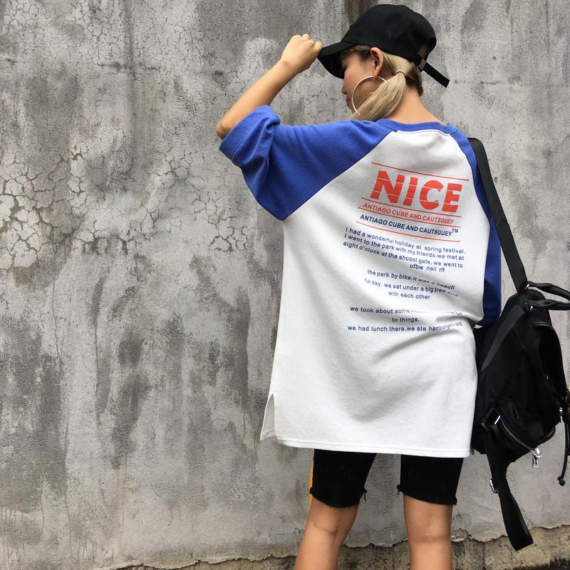 ラグランTOPS「NICE」