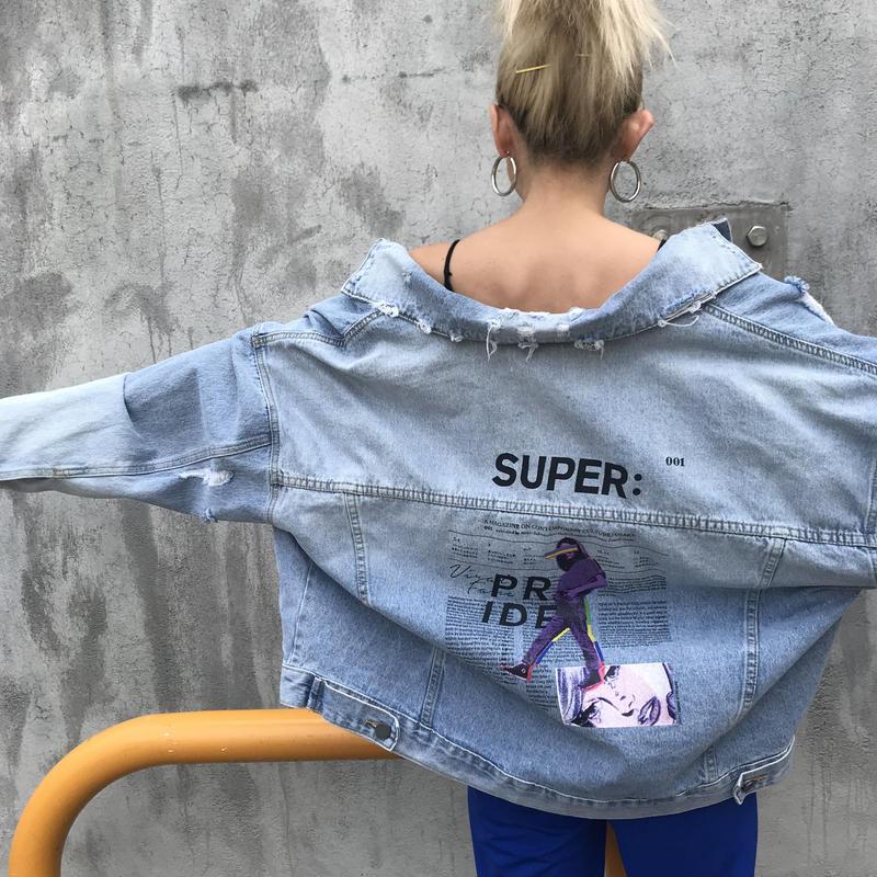 ヴィンテージデニジャケ「SUPER」