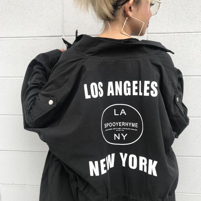 ミリタリージャケット「LA」