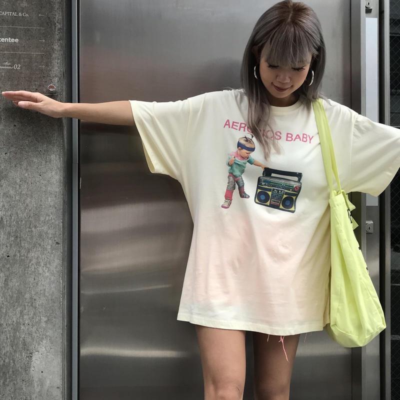 サラサラBIGTシャツ「エアロベイビー」