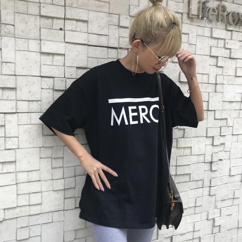 ロゴTシャツ「MERCI」