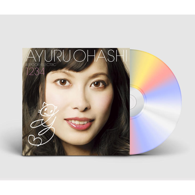 【サイン盤】大橋歩夕「1234」CD(紙ジャケット仕様、EC特典ポストカード付)