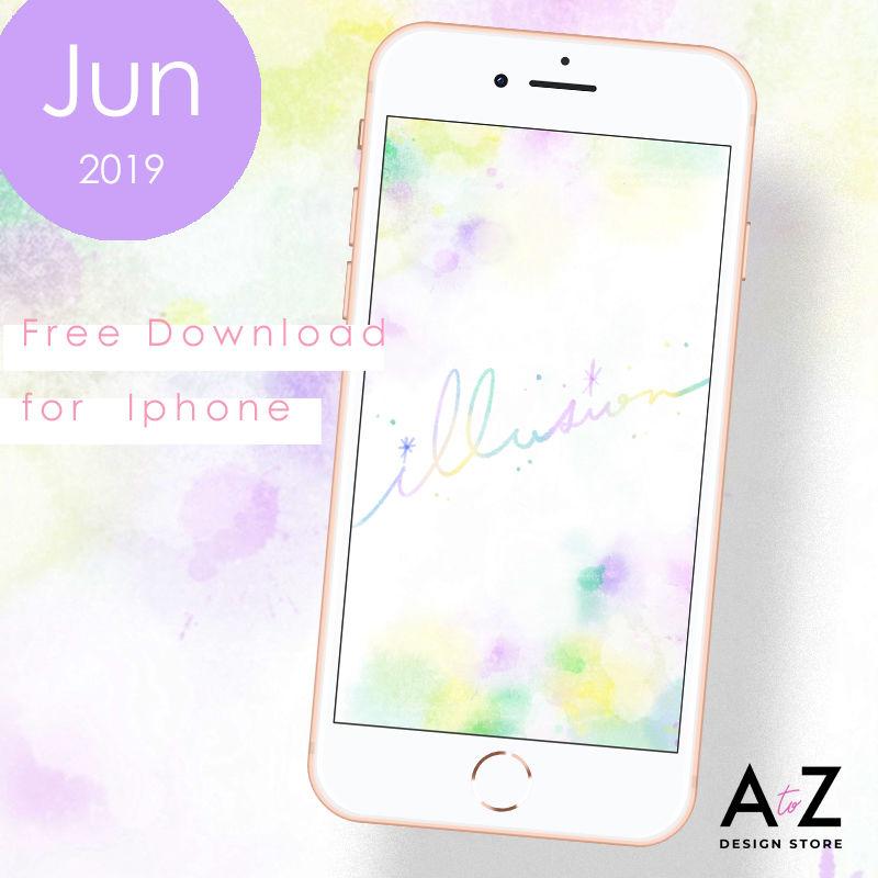 【限定】6月のスマホ壁紙 無料ダウンロード!