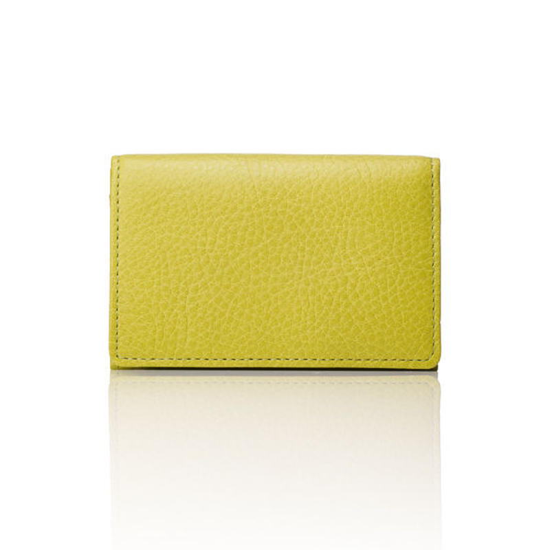 AZUMAYA card case pistachio green